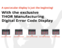 Digital Error Code Display